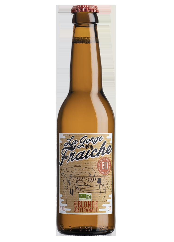La bière blonde bio